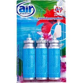 Air Menline Tahiti Paradise Happy Osvěžovač náhradní náplň 3 x 15 ml sprej