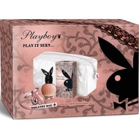 Playboy Play It Sexy toaletní voda 30 ml + taška, dárková sada