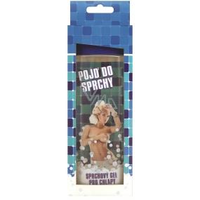 Bohemia Pojď do sprchy deodorační sprchový gel Oceanic s extraktem mořské řasy a s originální 3D etiketou 300 ml