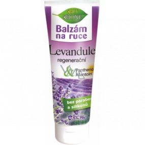 Bione Cosmetics Levandule regenerační balzám na ruce pro všechny typy pokožky 200 ml