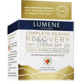 Lumene Complete Rewind Recovery Day Cream SPF20 intenzivní denní krém 50 ml