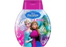 Disney Frozen Sweet Banana 2v1 šampon a koupelové mléko pro děti 250 ml