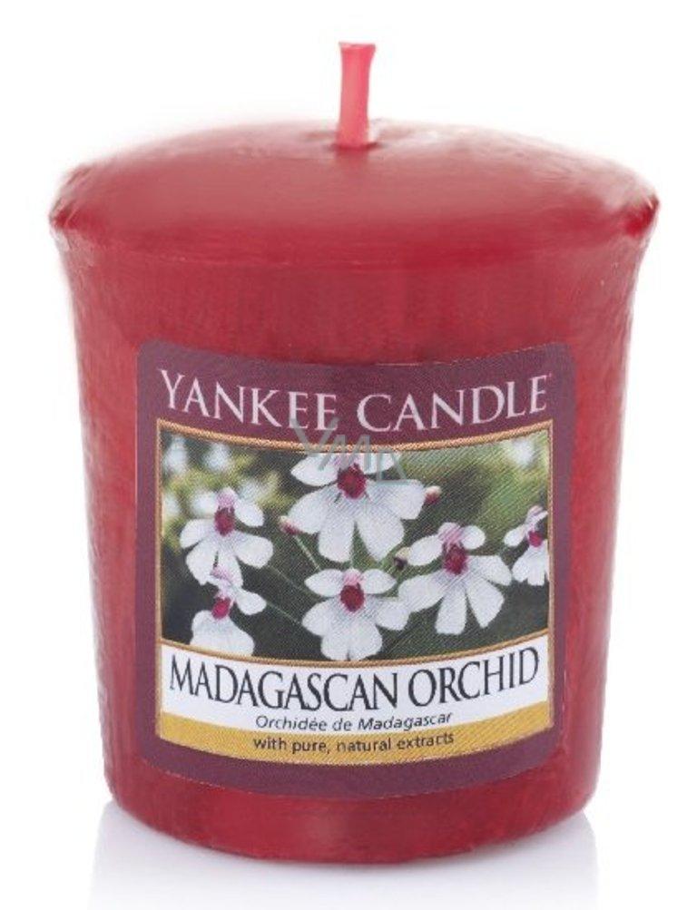 Yankee Candle Madagascan Orchid - Orchidea z Madagaskaru vonná sviečka votívny 49 g