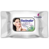 Freshmaker Make Up Aloe Vera & Vitamin E odličovací vlhčené ubrousky na make-up 25 kusů