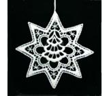 Háčkovaný strom ve hvězdě 9,5 cm