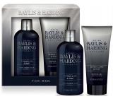Baylis & Harding Limetka a Máta 2v1 šampon a sprchový gel 300 ml + sprchový gel 200 ml, kosmetická sada pro muže