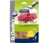 Dr. Clauders Meat Fruit Kuřecí maso a ananas sušené maso pro psy 80 g