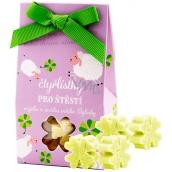 NeoCos Bylinky mýdlo z ovčího mléka Čtyřlístky zelené 6 x 2 g