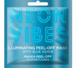 Marion Neon vibes Peel-off rozjasňující odlupovací pleťová maska 8 g