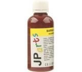 JP arts Barva na textil na světlé materiály, základní odstíny 11. Tmavě hnědá 50 g