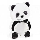 Albi Pokladnička dřevěná zvířátko Panda 22 x 5 x max 22 cm