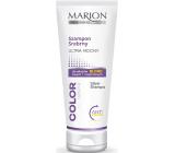 Marion Color Silver ultra silný šamon pro zesvětlené, šedivé a přírodní blond vlasy 200 ml
