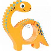 Albi Pokladnička dřevěná zvířátko Dinosaur 22 x 5 x max 22 cm