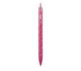 Spoko Flora kuličkové pero, růžové, modrá náplň, 0,5 mm