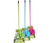 Spokar Úklidová souprava smetáček + lopatka + smeták + kovová hůl 120 cm různé barvy 1 sada