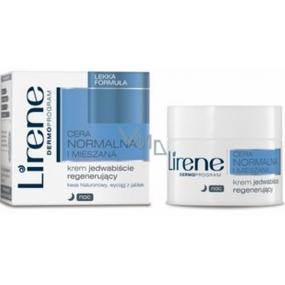 Lirene Normal And Combination Skin noční jemný regenerační krém 50 ml