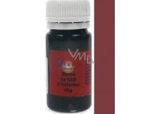 Art e Miss Barva na kůži koženku a podobné materiály, pružná vodou ředitelná 22 kávová 40 g