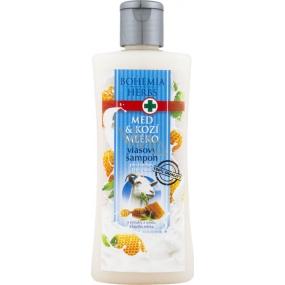 Bohemia Herbs Med a Kozí mléko šampon na vlasy 250 ml