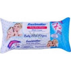 Freshmaker Baby Wet Wipes vlhčené ubrousky pro děti 72 kusů