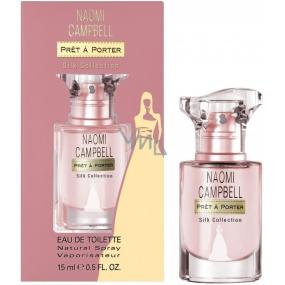 Naomi Campbell Pret a Porter Silk Collection toaletní voda pro ženy 15 ml