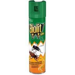 Biolit Uni proti létajícímu a lezoucímu hmyzu s vůní pomeranče sprej 400 ml