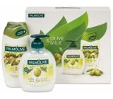 Palmolive Naturals Olive Milk tekuté mýdlo 300 ml + sprchový gel 250 ml, kosmetická sada