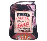 Albi Skládací taška na zip do kabelky se jménem Alena 42 x 41 x 11 cm