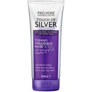 Pro:Voke Touch of Silver tónovací maska s fialovým pigmentem na rozjasnění a oživení barvy a lesku vlasů 200 ml