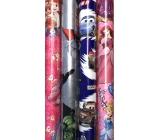 Disney Princess Vánoční balicí papír pro děti světle růžový Sněhurka 2 m x 70 cm