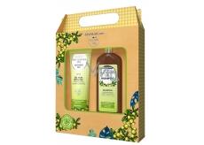GlySkinCare Makadamový olej šampon na vlasy 250 ml + sprchový gel 250 ml kosmetická sada pro suché a poškozené vlasy