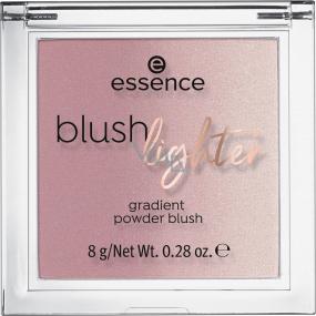 Essence Blush Lighter tvářenka a rozjasňovač 03 Cassis Sunburst 8 g
