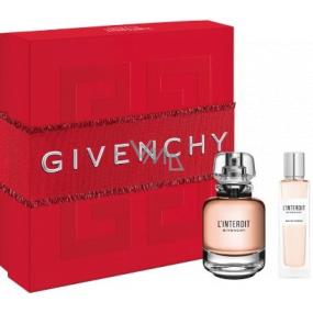 Givenchy L Interdit parfémovaná voda pro ženy 50 ml + parfémovaná voda 15 ml, dárková sada