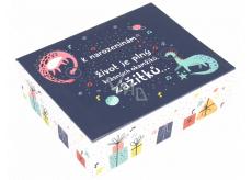 Albi Hrací krabička na peníze Dinosauři 11 x 9 x 3,5 cm