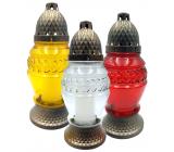 Admit Lampa skleněná 23 cm 80 g LA273 různé barvy