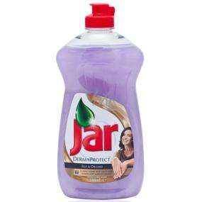 Jar DermaProtect Silk & Orchid Prostředek na ruční mytí nádobí 500 ml