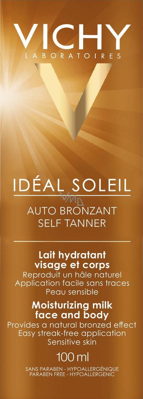 vichy ideal soleil auto bronzant hydrata n samoopalovac ml ko na obli ej a t lo 100 ml vmd. Black Bedroom Furniture Sets. Home Design Ideas