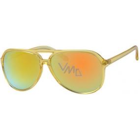 Fx Line A40225 žluté sluneční brýle