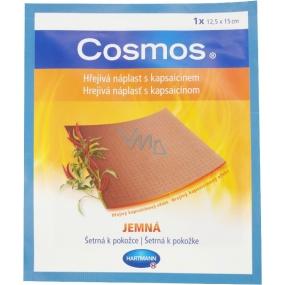 Cosmos Hřejivá náplast s kapsaicinem jemná 12,5 x 15 cm