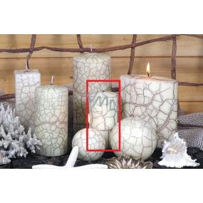 Lima Nevada svíčka slonová kost válec 50 x 100 mm 1 kus