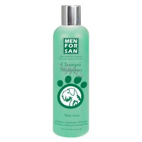 MenForSan Přírodní zklidňující, hojivý šampon s výtažky z Aloe Vera pro psy 300 ml