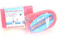 Fit & Pohoda Perla anticelulitidní koupelová houba pro extra silnou masáž 14 x 9 x 5,5 cm