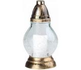 Rolchem Lampa skleněná Praskaná koule 23,5 cm