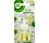 Air Wick Fresh Infusions Jasmine Iced Tea - Vůně jasmínového ledového čaje elektrický osvěžovač náhradní náplň 19 ml