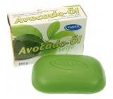 Kappus Avokádový olej jemné přírodní toaletní mýdlo 100 g