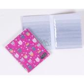 Albi Pouzdro na karty i doklady Sovičky 10 cm × 13,5 cm