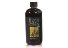 Millefiori Milano Natural Sandalo Bergamotto - Santálové dřevo a Bergamot Náplň difuzéru pro vonná stébla 500 ml