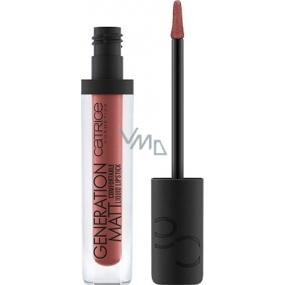 Catrice Generation Matt Comfortable Liquid Lipstick tekutá rtěnka 050 Danger Lips 5 ml