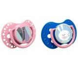 Lovi Rabbit Šidítko silikonové dynamické pro děti 3-6 měsíců 2 kusy