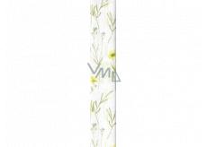 Ditipo Balicí papír bílý luční kvítí 100 x 70 cm 2 kusy