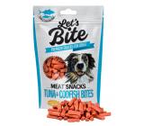 Brit Lets Bite Masové válečky z tuňáka a tresky doplňkové krmivo pro psy 80 g